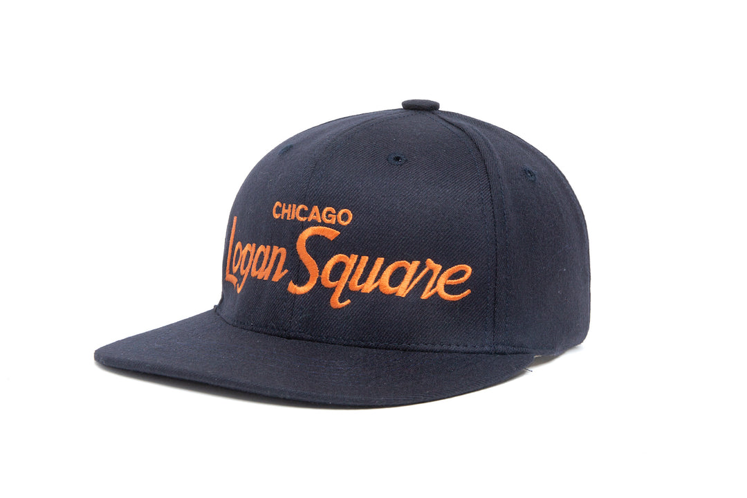 Logan Square wool baseball cap