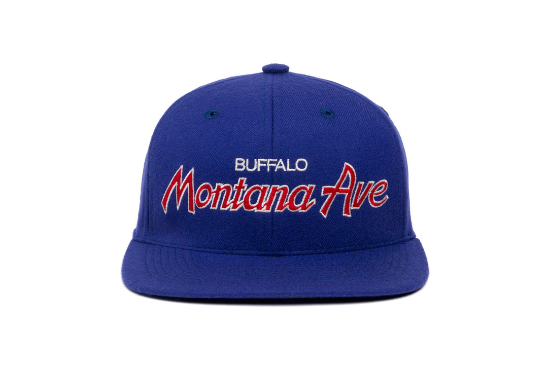 Montana Ave wool baseball cap