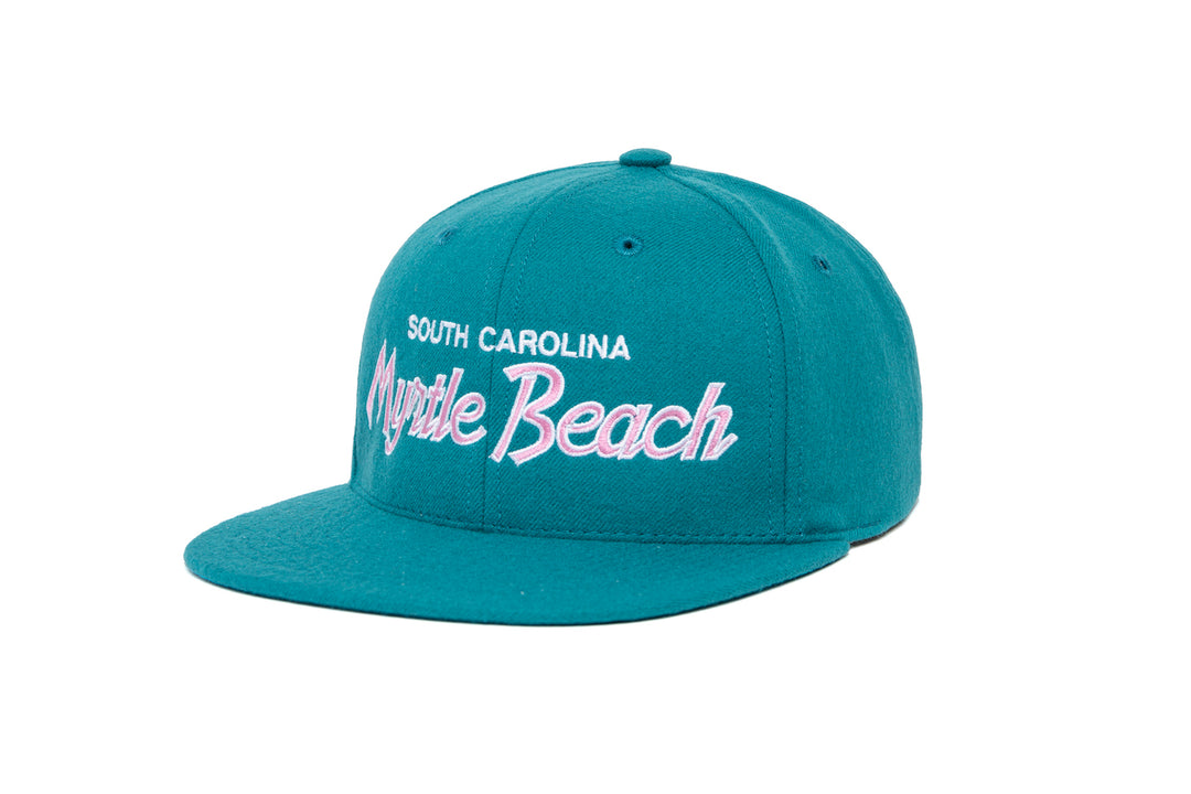 Myrtle Beach wool baseball cap