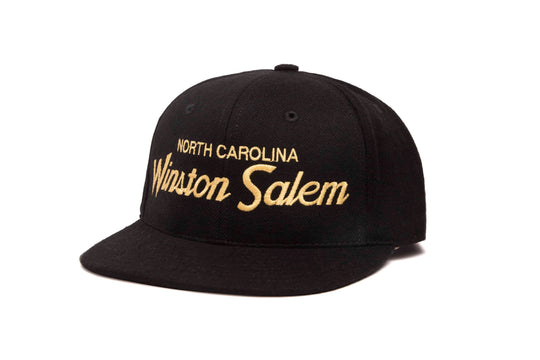 Winston Salem wool baseball cap