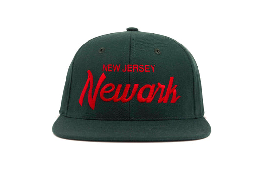 Newark wool baseball cap