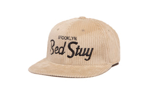 Bed Stuy Cord wool baseball cap