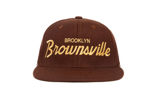 Brownsville II wool baseball cap