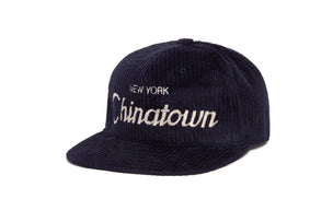 Chinatown Cord wool baseball cap