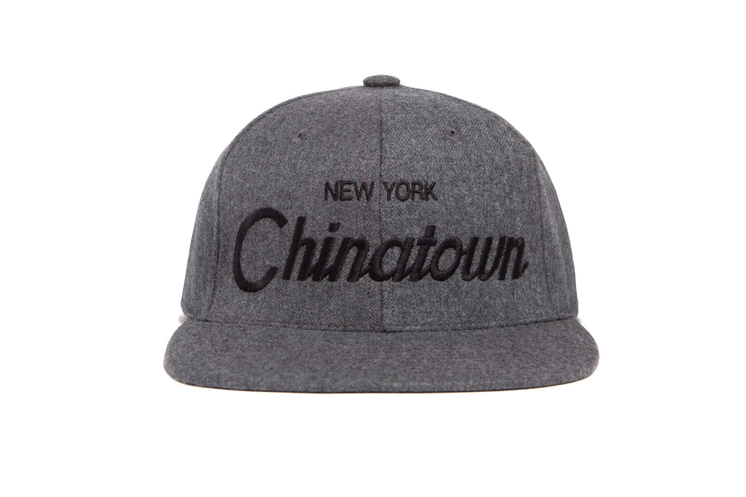 Chinatown II wool baseball cap