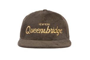 Queensbridge Cord wool baseball cap