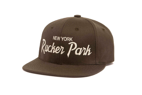 Rucker Park wool baseball cap