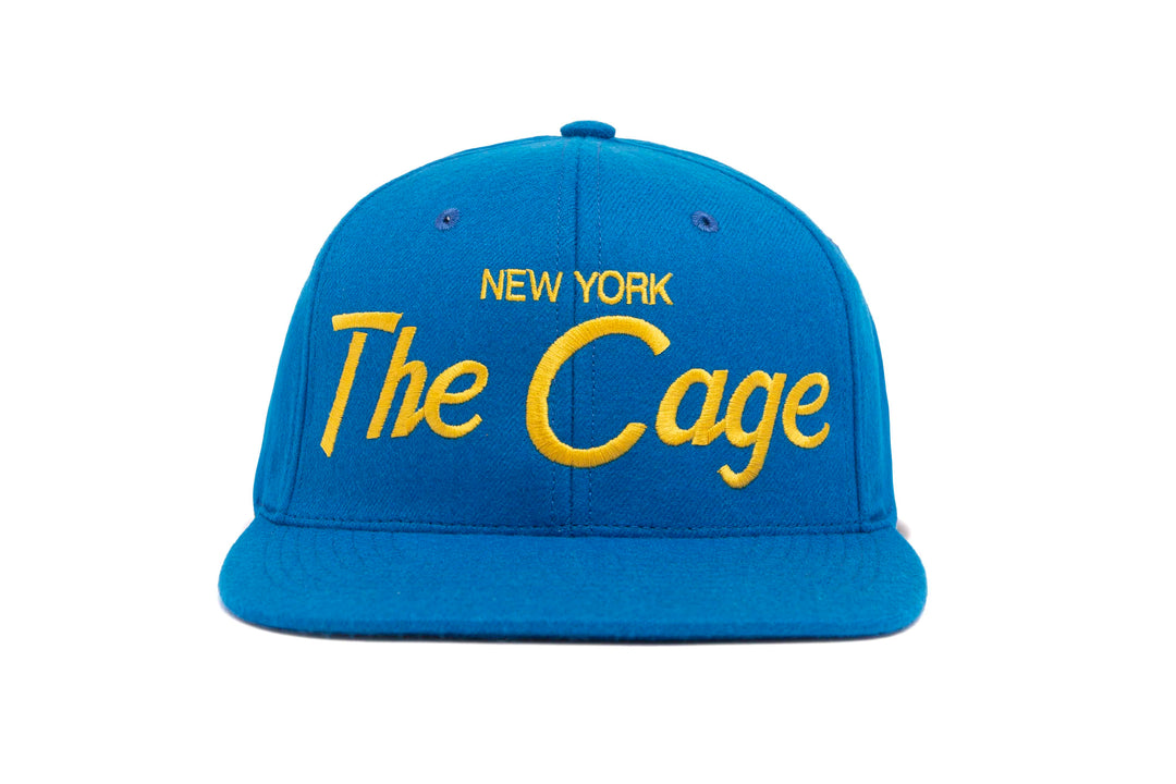 The Cage wool baseball cap
