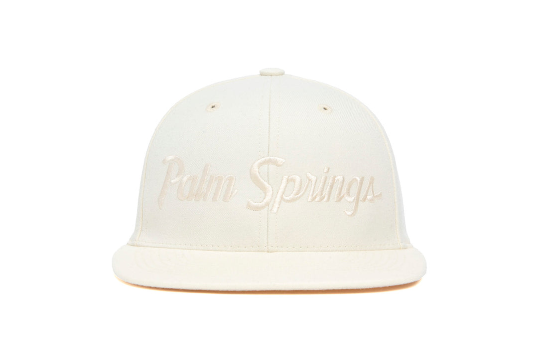 Palm Springs wool baseball cap