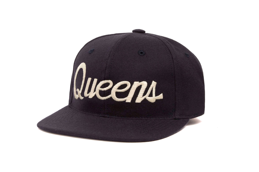 Queens wool baseball cap