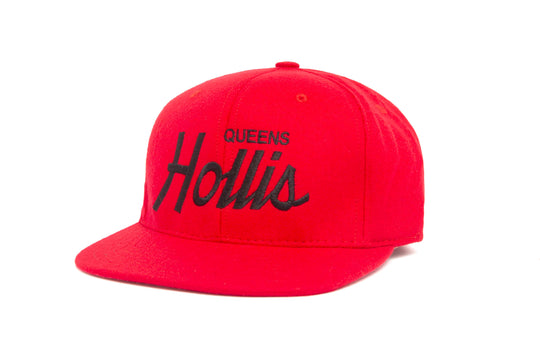 Hollis wool baseball cap