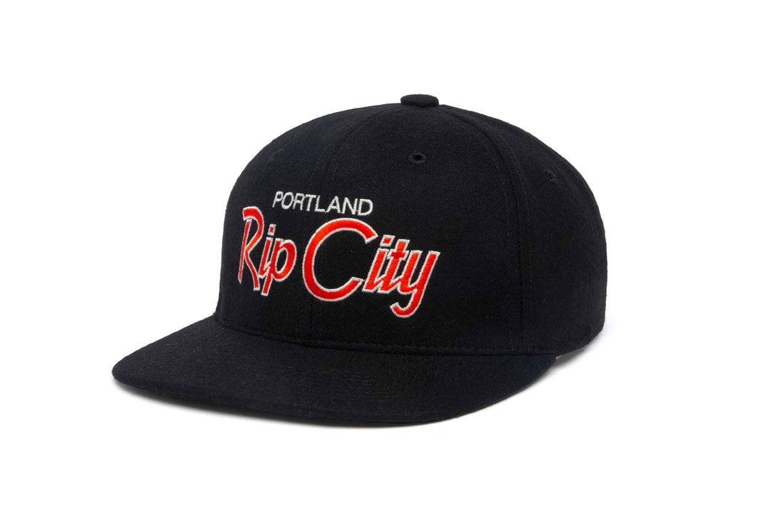 Rip City wool baseball cap