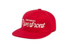 Riverfront wool baseball cap
