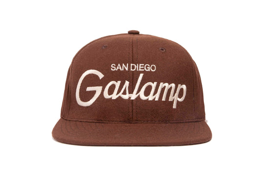 Gaslamp wool baseball cap