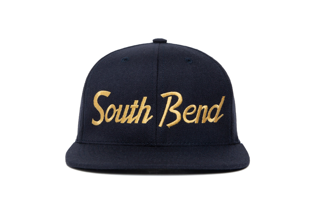 South Bend wool baseball cap
