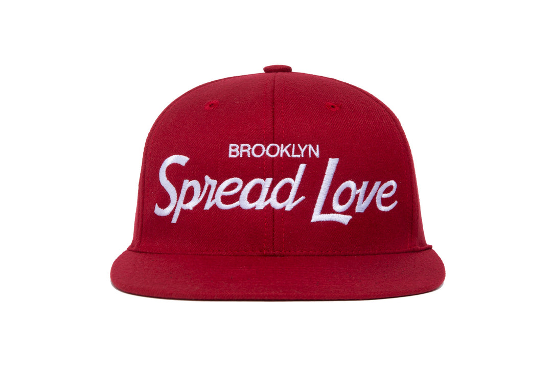 Spread Love III wool baseball cap