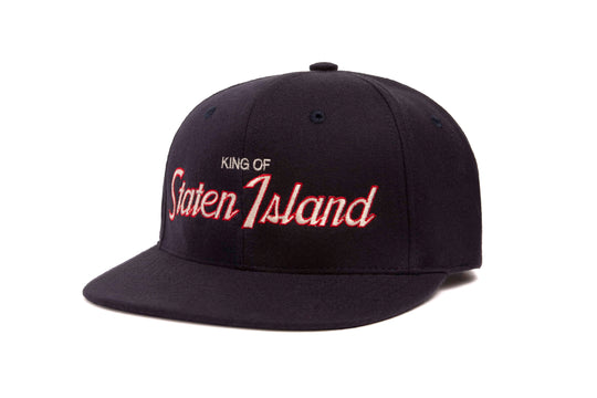 King of Staten Island wool baseball cap