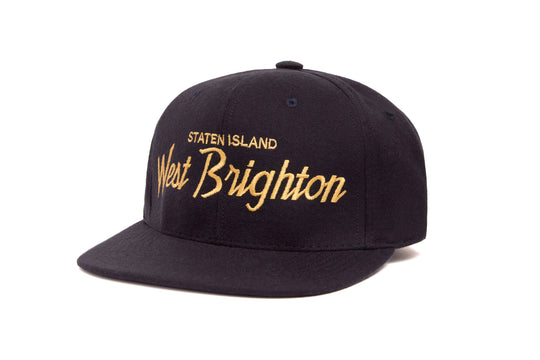 West Brighton wool baseball cap
