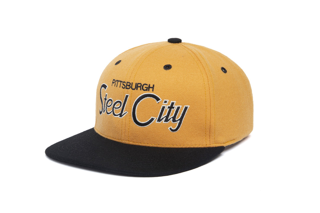 Steel City Two Tone wool baseball cap