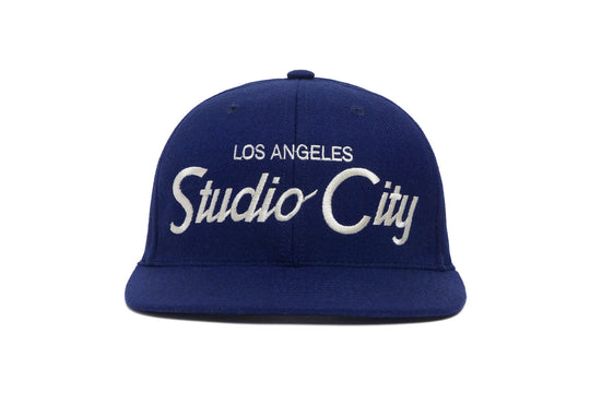 Studio City wool baseball cap