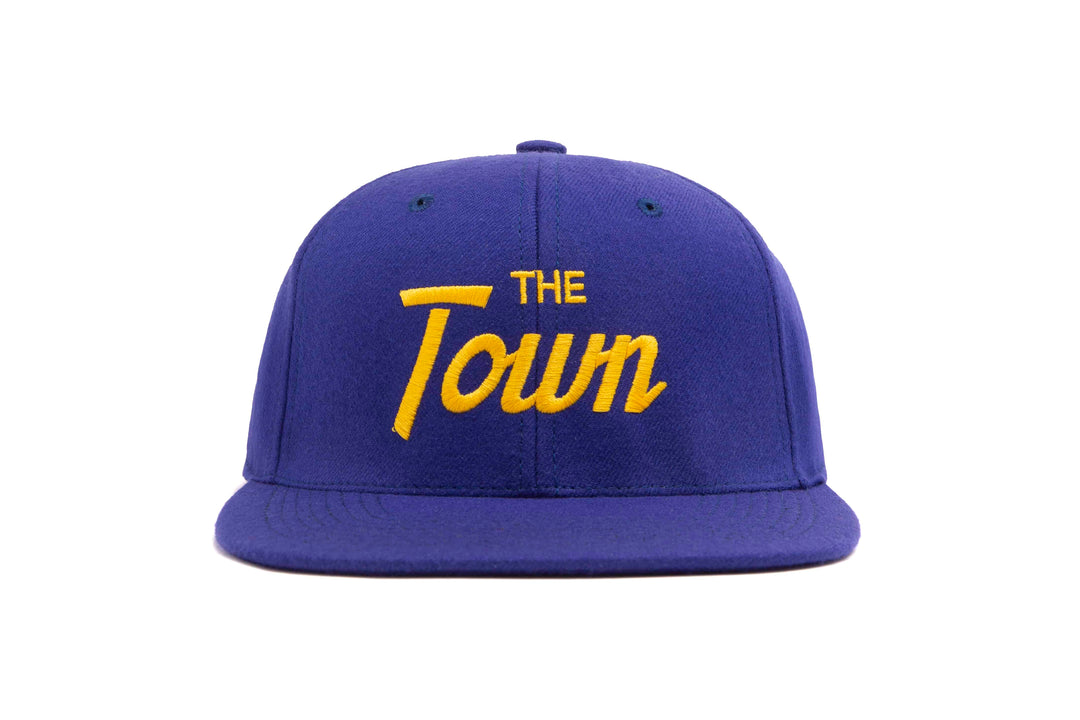 The Town wool baseball cap