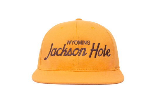 Jackson Hole wool baseball cap
