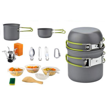 Camping Stove- Portable Camping Cooker for Backpacking Hiking Cookware