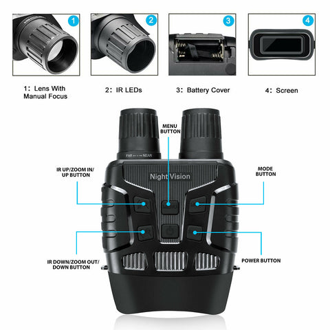 Night Vision Binoculars Infrared