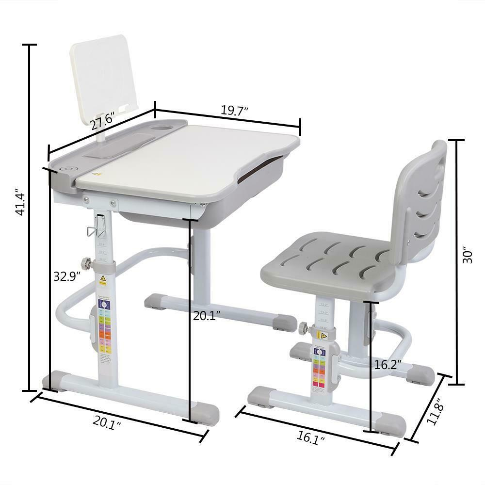 Kids Study Desk and Chair