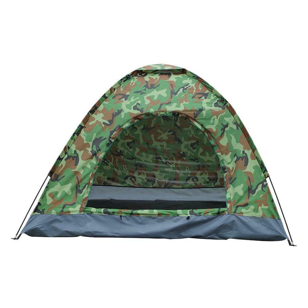 Camping Tent Popup Instant 3-4 Person Outdoor Hiking Tent front