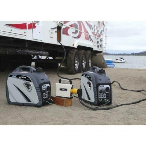 Portable Power Inverter Generator - 2300 Watt Gasoline Parallel Generator