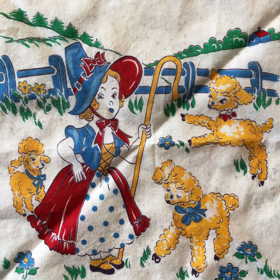 Little Bo Peep Mini Handkerchief