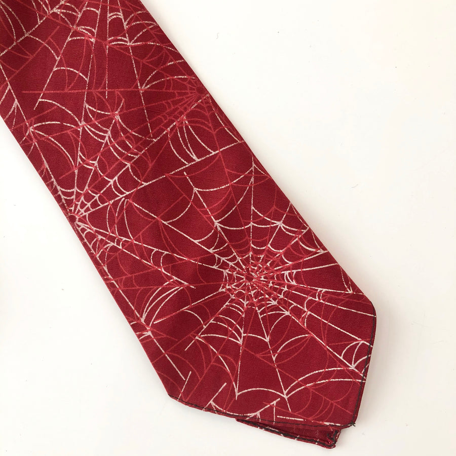 1940's Spider Web Tie by Wormser
