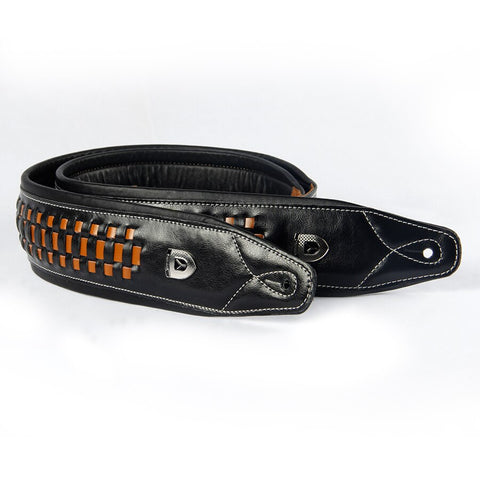 Premium Handwoven Cowhide Leather Strap