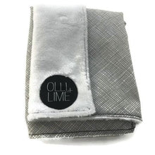 Load image into Gallery viewer, Olli + Lime Nest Grey Lovey Security Blanket