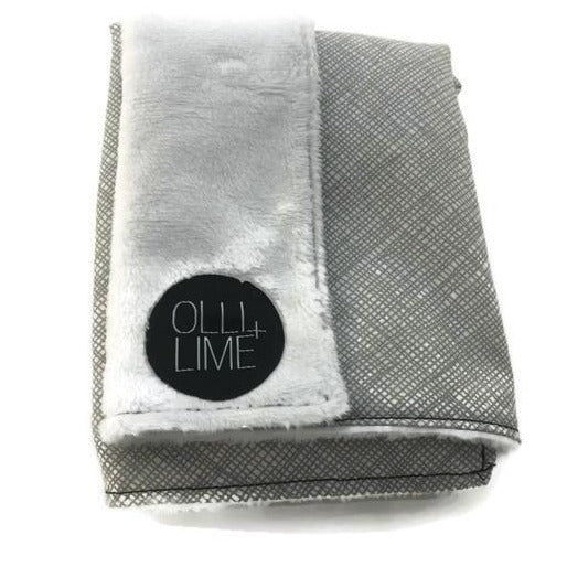 Olli + Lime Nest Grey Lovey Security Blanket