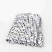 Load image into Gallery viewer, Olli + Lime Wavy Etches Fitted Crib Sheet