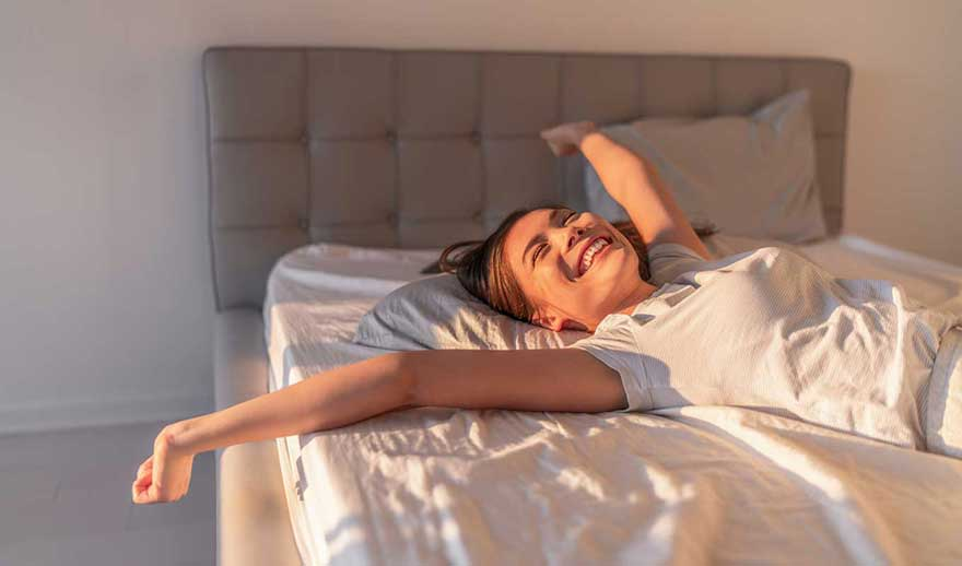 Sleep better without alcohol