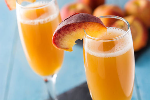 Non-alcoholic Peach Bellini Recipe