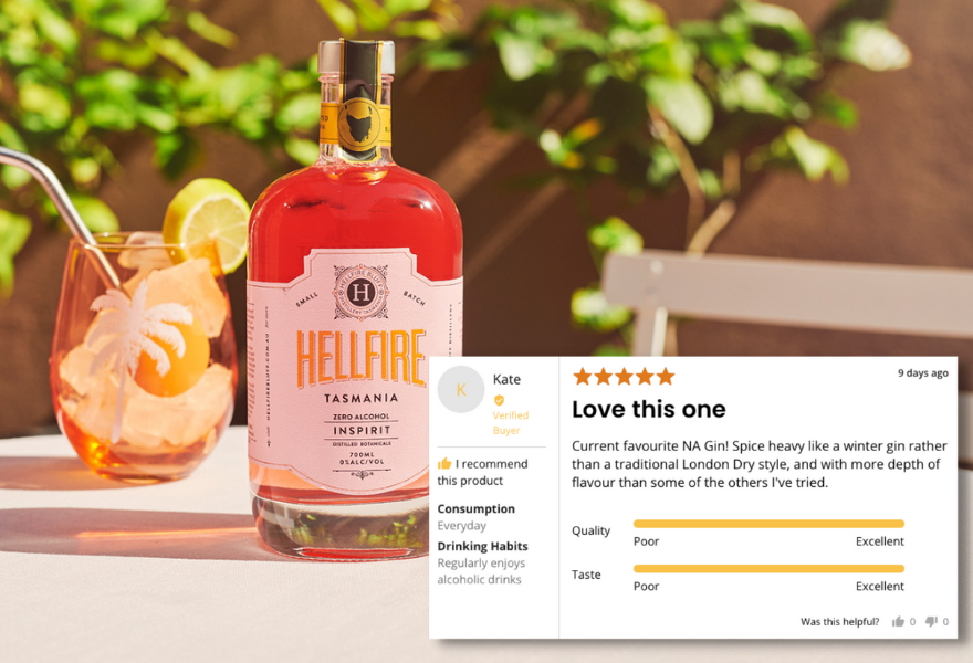 Hellfire is a popular pink gin
