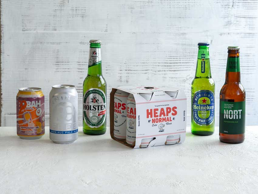 Non-Alcoholic Beer line up