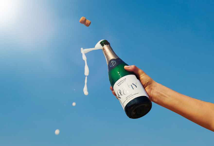 Noughty is the best non-alc sparkling