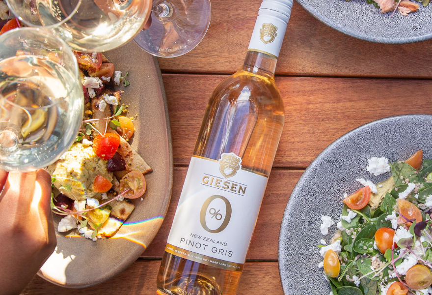 Giesen non alcoholic Pinot Gris has been highly anticipated