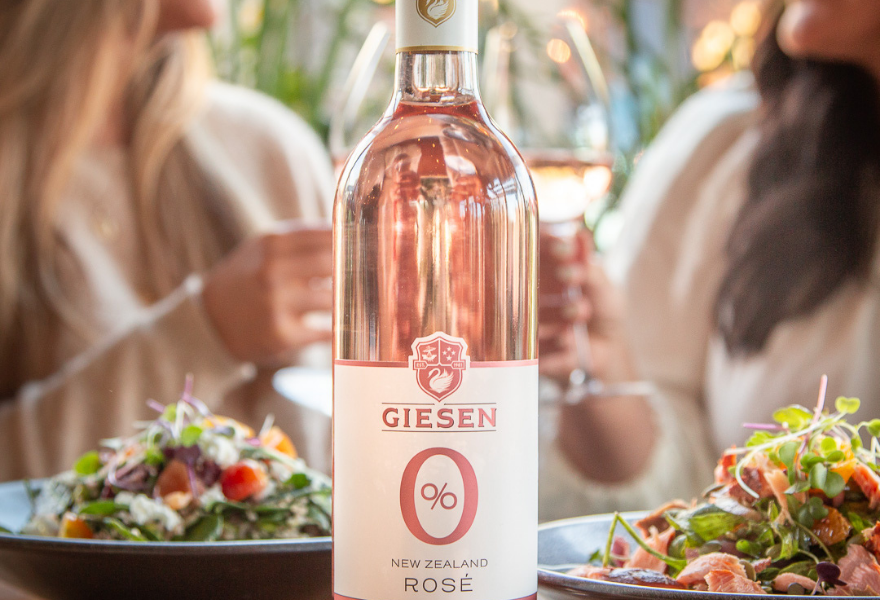 Non alcoholic rose is a summer on trend this summer