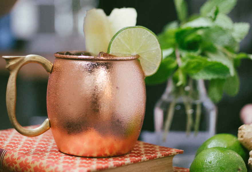 Rum and lime the perfect combination