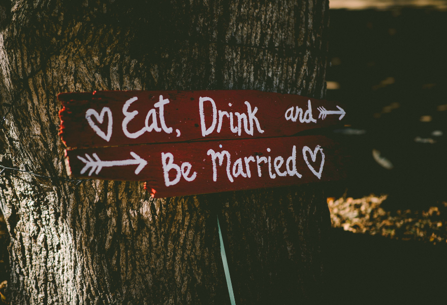 Eat, Drink and be married!