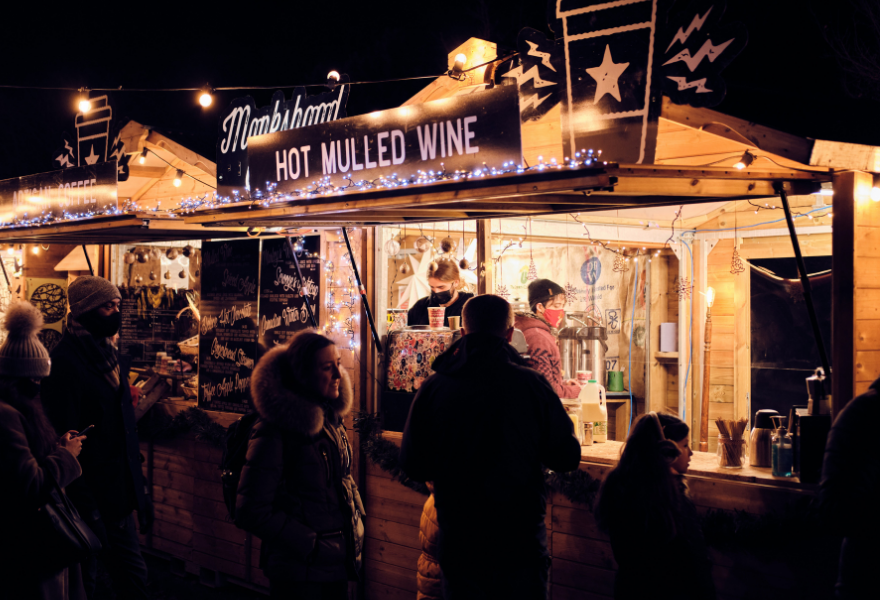 Mulled wine is the perfect winter warmer