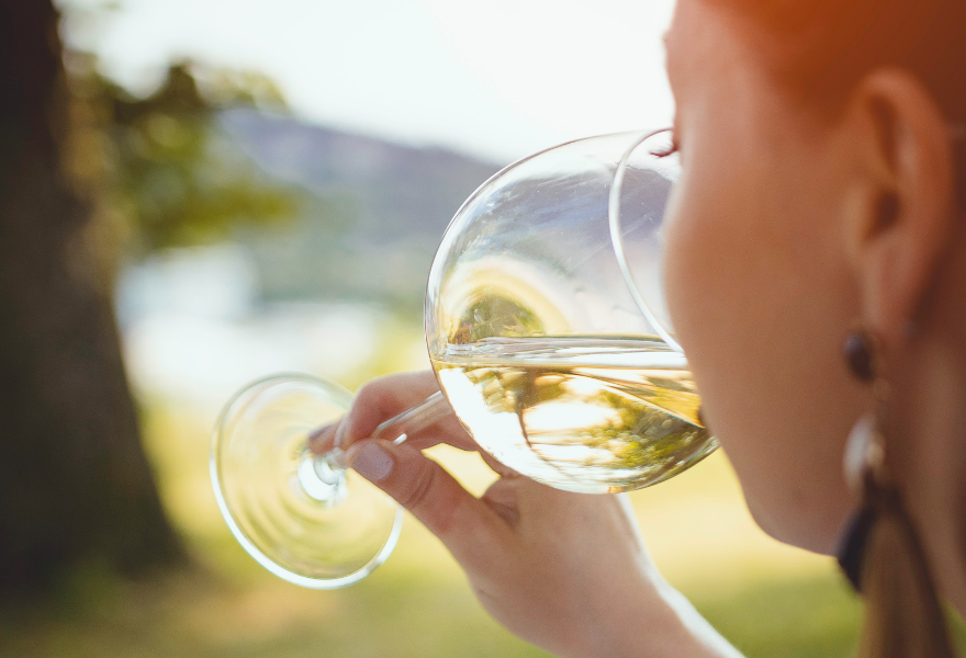 Consider the glass to get the most out of non alcoholic wine