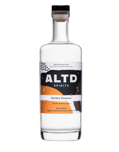 700ml bottle of ALTD Spirits Golden Emperor