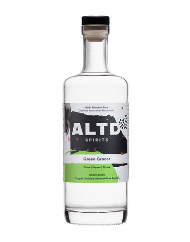 700ml bottle of ALTD Spirits Green Grocer